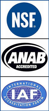 Santos Precision AS 9100, ISO 9001, NSF, ANAB ACCREDITED, IAF, INTERNATIONAL ACCREDITATION FORUM